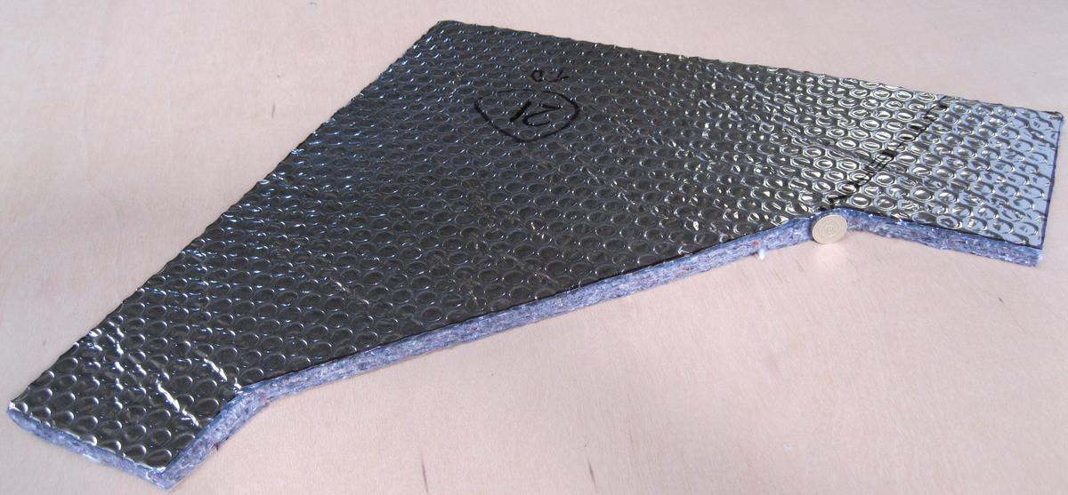 Sound Insulation Materials : Vw t sound deadening soundproofing insulation kits