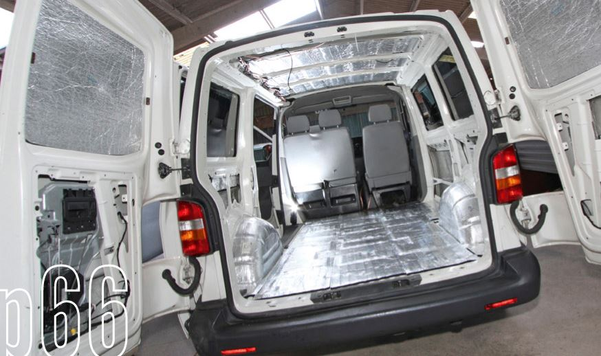 Vw T4 T5 T6 Sound Deadening Soundproofing Amp Insulation Kits